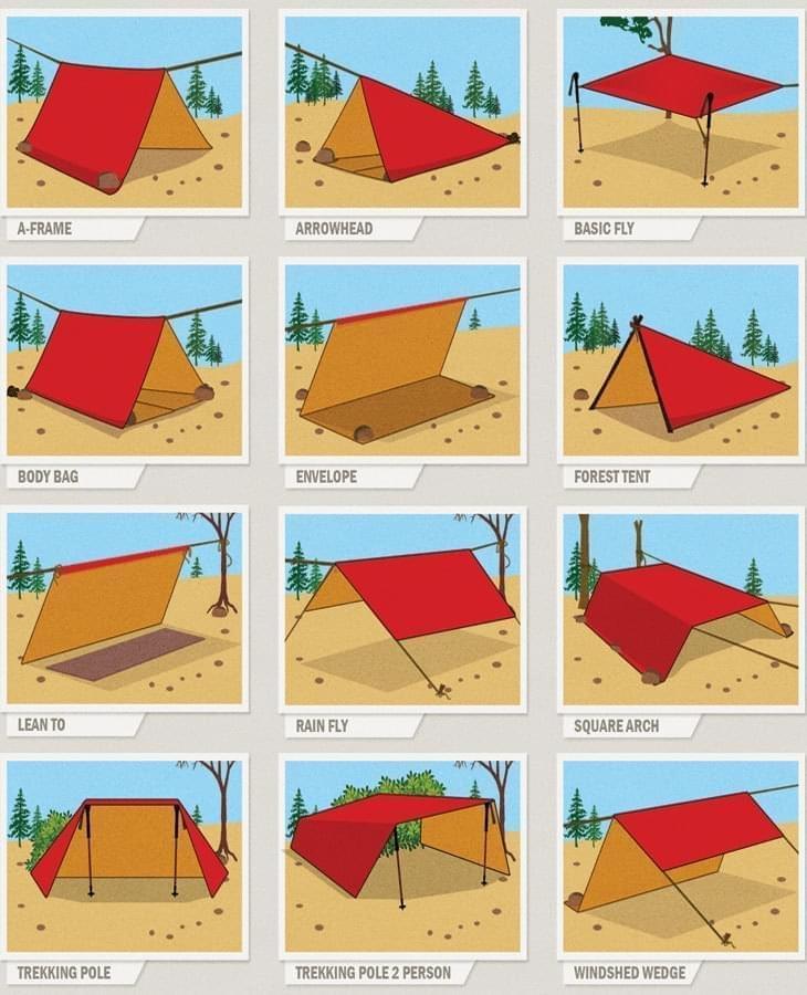 Configuraciones con tarp