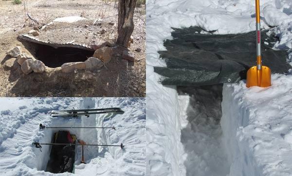refugio supervivencia en tierra y nieve